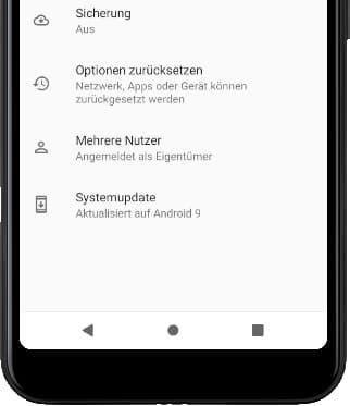 Erweitert Android